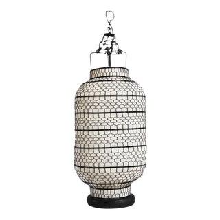 Vintage Cylinder Heibe Wire Lantern