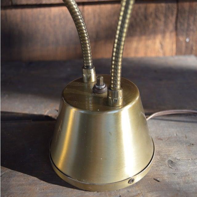 Image of Vintage Double Light Adjustable Desk Lamp