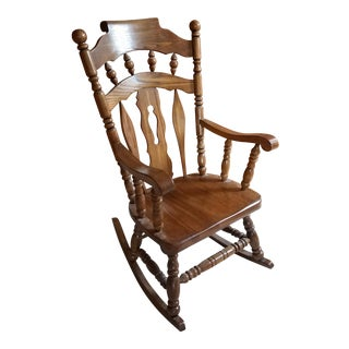 Virginia House Solid Oak Rocking Chair