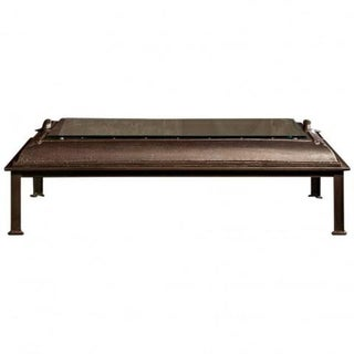 Cast Iron, Boiler Room Door Turned Coffee Table