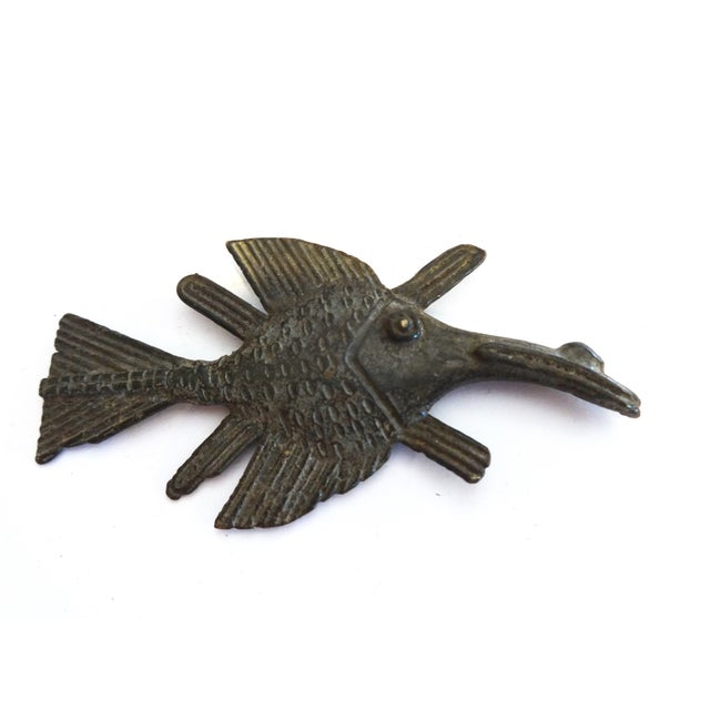 Image of Akan Bronze Gold Weight Figure of a Fish