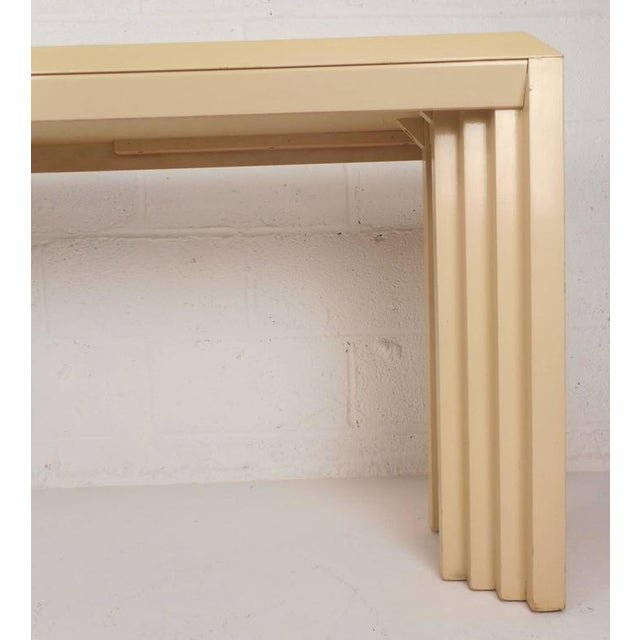 Mid-Century Modern Lacquered Console Table by Lane Furniture Company - Image 6 of 9