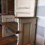 Image of Repurposed Antique Door Hall Tree Bench