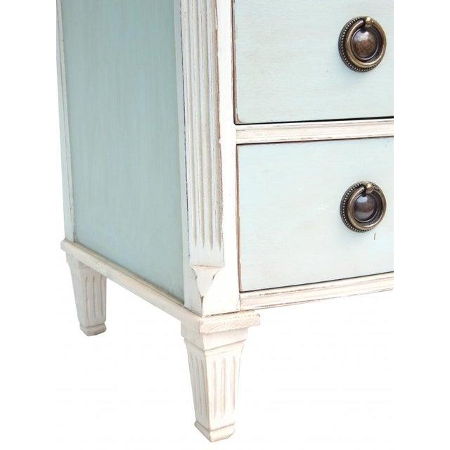Swedish Blue and White Dresser - Image 9 of 10