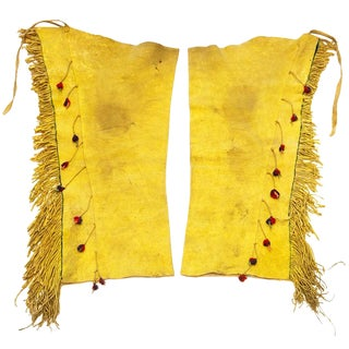 Apache Leggings, circa 1900-10