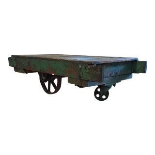 Vintage American Factory Cart