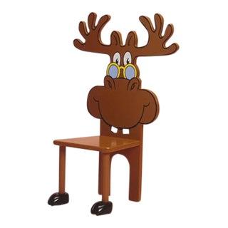 Moose Character Children's Chair