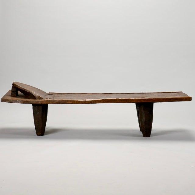 Image of Ivory Coast Dark Wood Senufo Bench