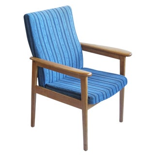 Magnus Olesen Danish Modern Oak Lounge Chair