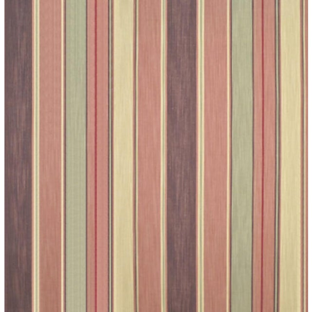 "Image of Saddle Peak Stripe in ""Coal Sands"" - 4 Yards"