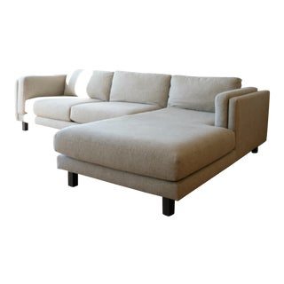 "Holden Custom 114"" Sofa with Right Arm Chaise"