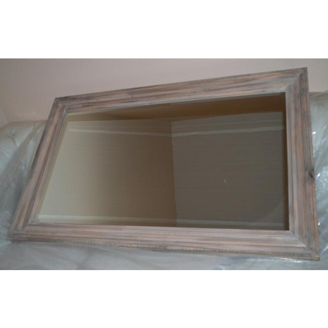 Image of Reclaimed Wood Framed Mirror