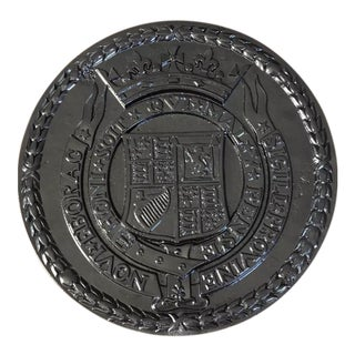 Cast Iron Urban Americana West Side Highway Roundel Medallion Seal