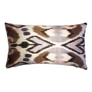 Brownstone Silk Atlas Accent Pillow