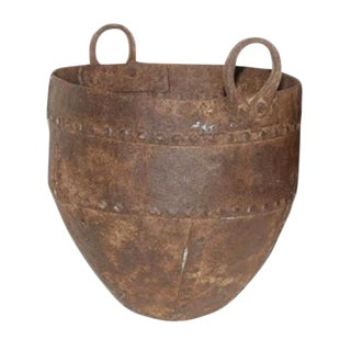 Studded Iron Pot