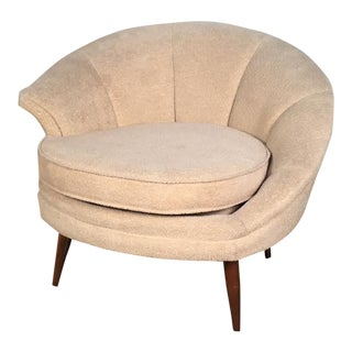 Carsons Hollywood Regency Lounge Chair