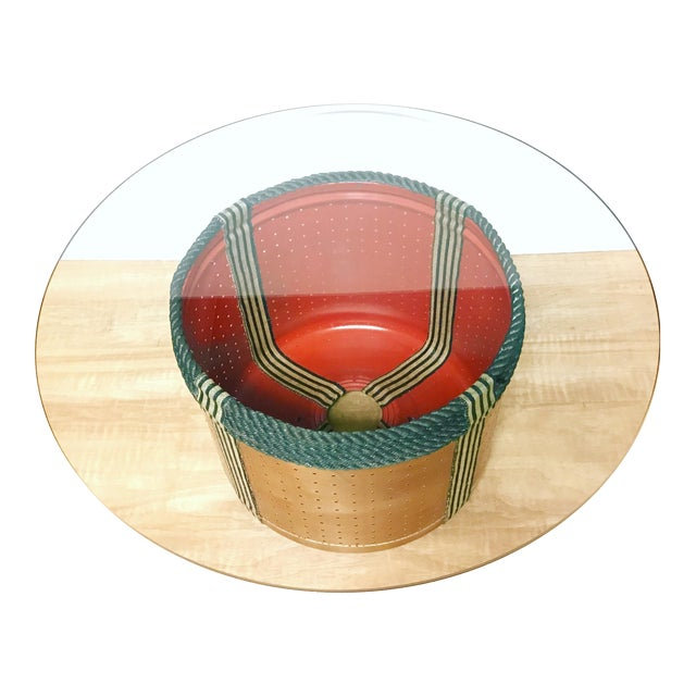 Dryer Drum Coffee Table - Image 1 of 9