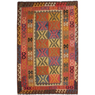 "Aara Rugs Inc. Hand Knotted Traditional Kilim - 8'0"" X 5'4"""
