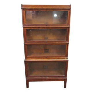 Globe Wernicke Four Level Barrister Bookcase