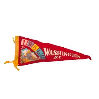 1966 Washington, DC Felt Flag