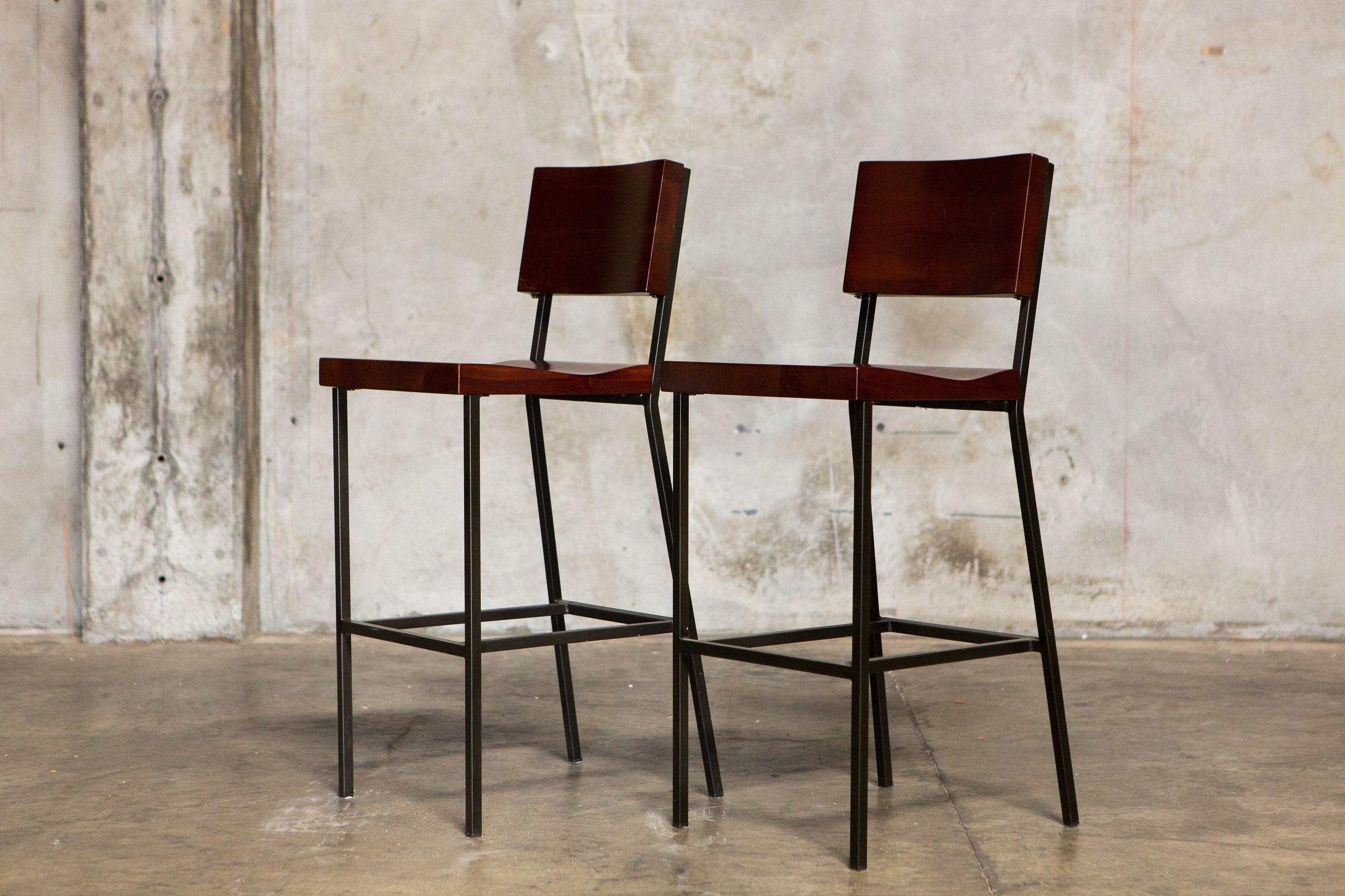 Metal Frame Wood Bar Stools Chairish : f172988d 0fa6 4ff2 ab52 ce472c970611aspectfitampwidth640ampheight640 from www.chairish.com size 640 x 640 jpeg 42kB