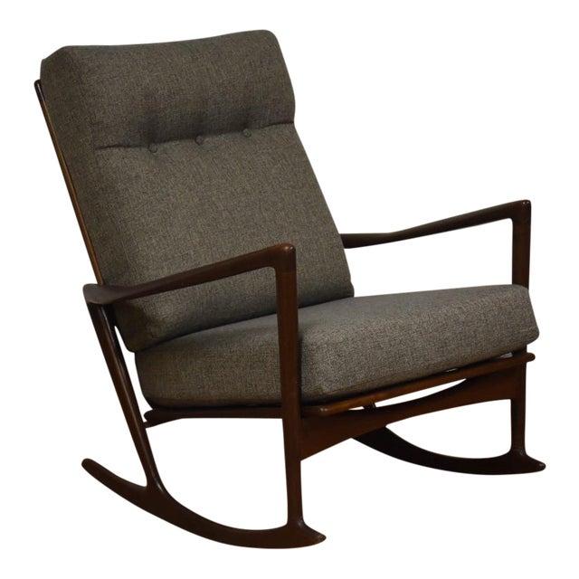 Ib Kofod Larsen for Selig Rocking Chair - Image 1 of 11