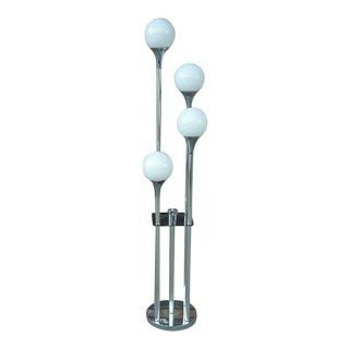 Sonneman Retro Chrome Floor Lamp