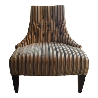 Baker Velvet Salon Chair