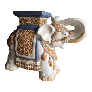 Elephant Side Table Stool