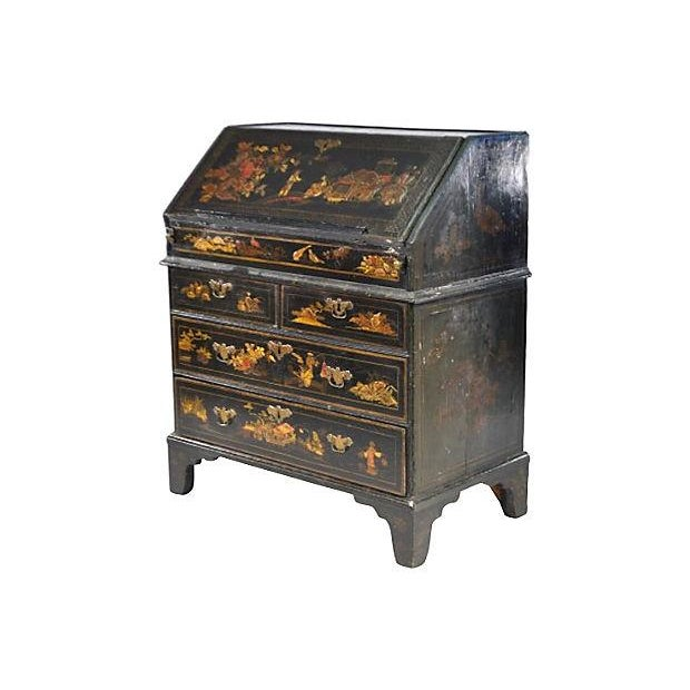 Image of Antique 19th-C. English Chinoiserie Desk