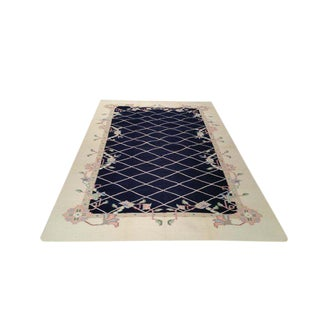 Modern Contemporary Dhurrie Hand Made Rug - 6′ × 9′