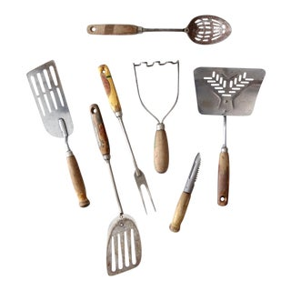 Vintage Kitchen Utensil Collection - Set of 7