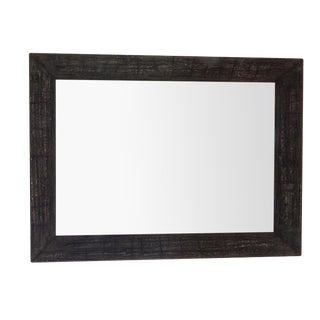 Customizable Large Dark Charcoal Wall Mirror