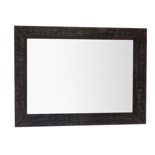 Large Dark Charcoal Wall Mirror