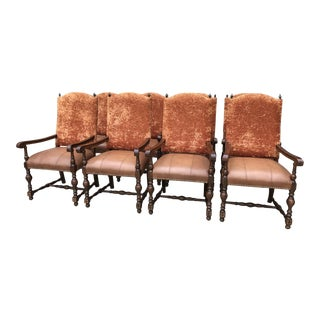 Taracea Arm Dining Chairs - Set of 8