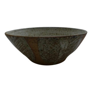 Japanese Mid-Century Studio Pottery Bowl