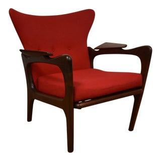 Adrian Pearsall Wing Back Lounge Chair