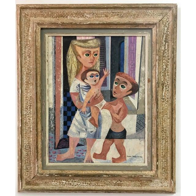 Howard Mandel '53 American Cubism - Image 2 of 7