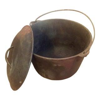 World War II Cast Iron Kettle