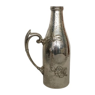 Antique Aesthetic Silver Wine Bottle Sleeve