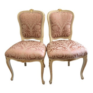 French Provincial Chairs - A Pair