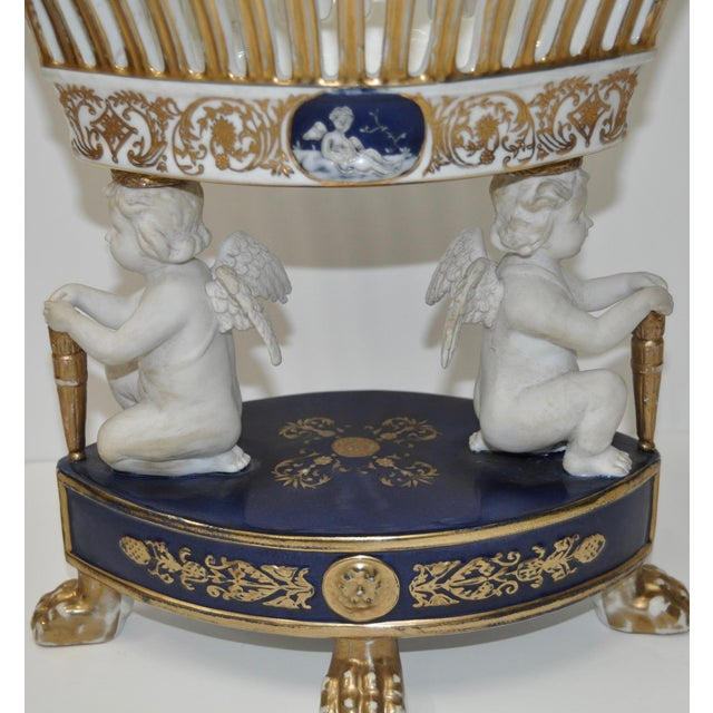 Early 20th Century Porcelain Planters - Pair - Image 5 of 10
