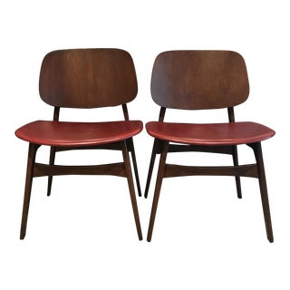 Børge Mogensen- Søborg Model 155 Chairs - A Pair