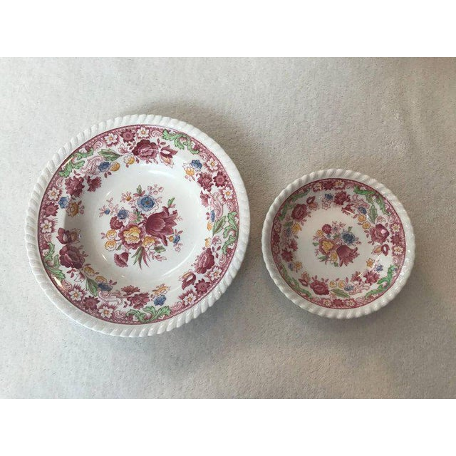 Winchester Johnson Bros China Set - Service for 12 - Image 5 of 9