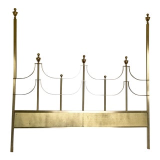Mastercraft Hollywood Regency Brass King Headboard