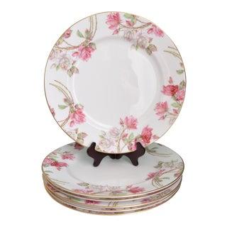 Aynsley Elizabeth Rose Dinner Plates - Set of 6