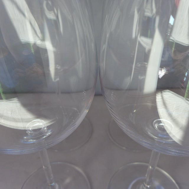 Waterford Clear Crystal Wine Glasses - Set of 4 - Image 7 of 7