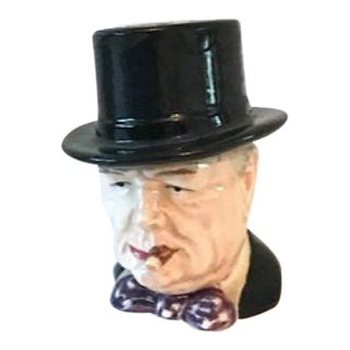 Winston Churchill Royal Winton Grimwades Miniature Toby Pitcher