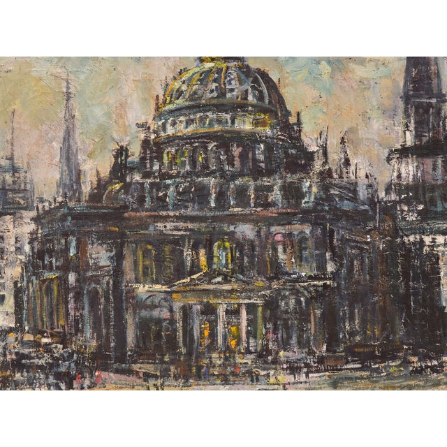 Edwin Becker Paris Opera Impressionist Painting - Image 6 of 9