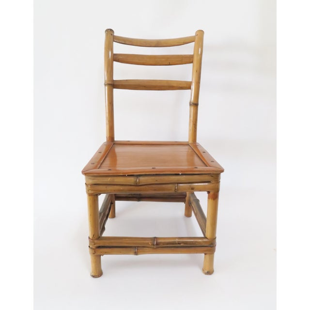 Child's Bamboo Chair - Image 2 of 7